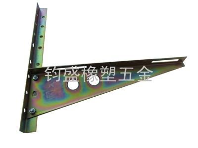 五彩镀锌空调支架